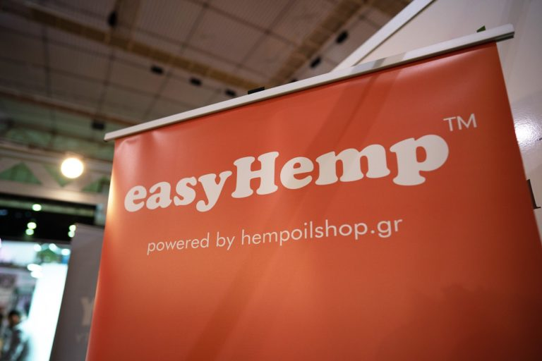 easyHemp banner at expo